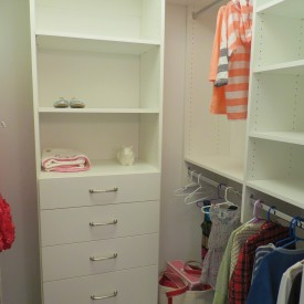 Young Girls Closet Design