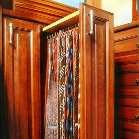 Vertical Tie Drawer