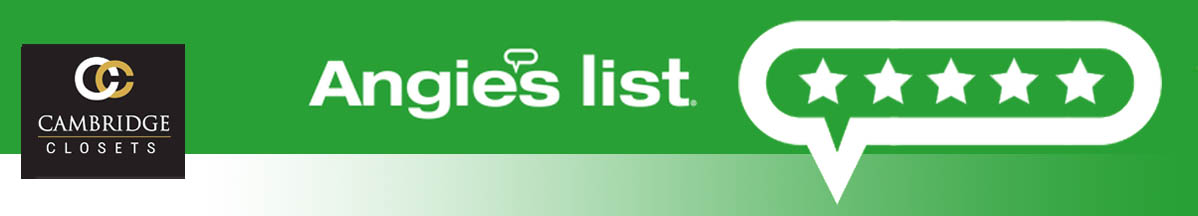 Cambridge Closets on Angies List
