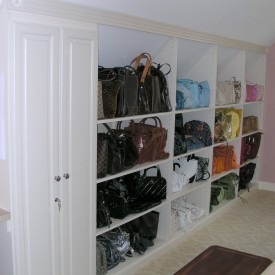 Walk In Closet – Angled Ceiling