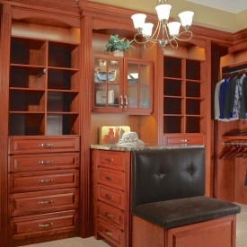 High End Walk-In Closet / Dressing Suite