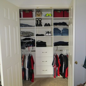 Young Boys Closet Design